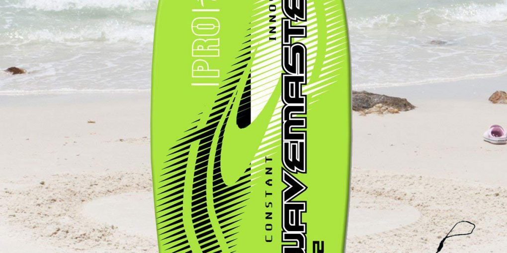 42 inch Ultimate Hard Slick Bottom Wavemaster Pro Bodyboard