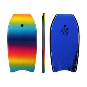 Random 37 inch and 41 inch High Performance Bodyboards Lightweight with EPS core(Rainbow and color dots two colors Available)