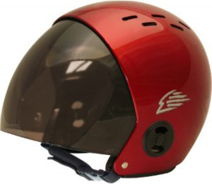 Gath Safety Surf Helmet with Retractable Visor